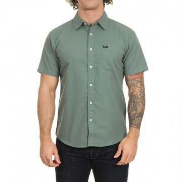Brixton Charter Woven Shirt Jade