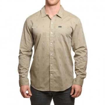 Brixton Charter Long Sleeve Shirt Sage