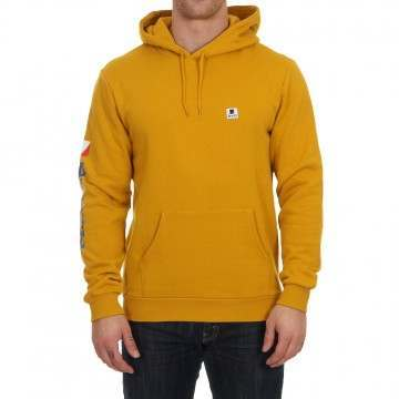Brixton Stowell Hoody Nugget Gold