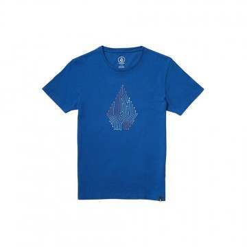 Volcom Boys Circuit Tee Deep Water
