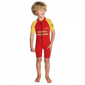 CSkins Baby Shorty Wetsuit Lifeguard