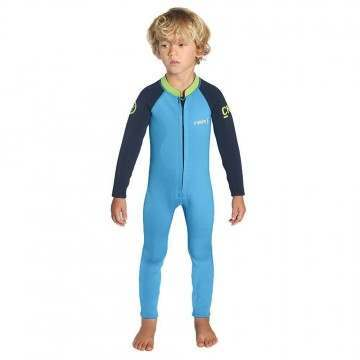 CSkins Baby Steamer Full Wetsuit Cyan/Navy