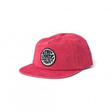 Ripcurl Washed Wetty SB Cap Red