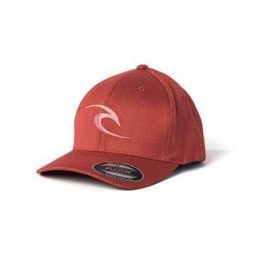 Ripcurl Fleck Curve Peak Cap Red