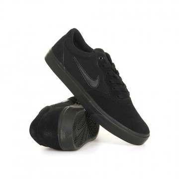 Nike SB Chron SLR Shoes Black/Black