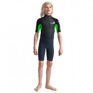 CSkins Kids Element 3/2 Shorty Wetsuit Graphite