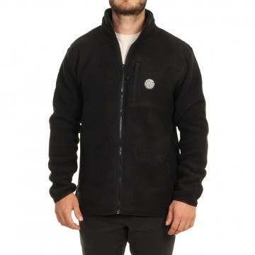 Ripcurl Fireside Zip Fleece Black