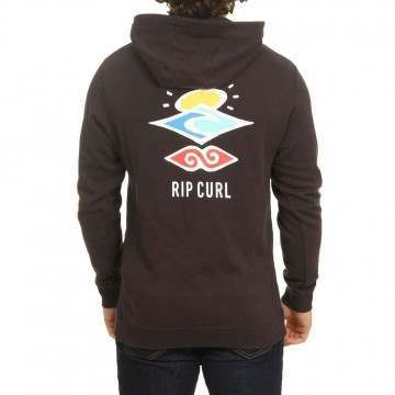 Ripcurl Search Icon Hoody Washed Black