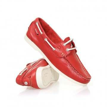 Chatham Willow Shoes Red