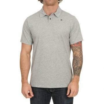 Hurley Dri-Fit Harvey Polo Shirt Grey Heather