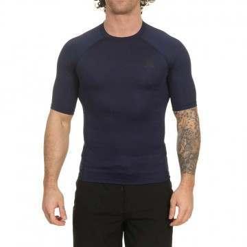 Hurley Pro Light Short Sleeve Rash Vest Obsidian