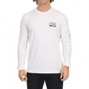 Animal Nold Long Sleeve Top White