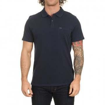 Animal Quay Polo Shirt Indigo Blue