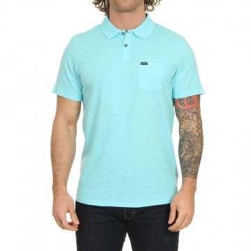 Animal Quay Polo Shirt Pale Blue