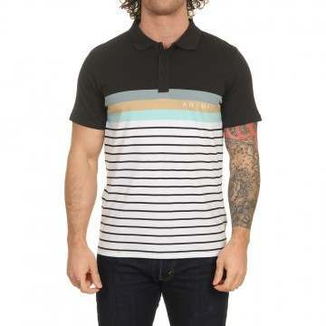 Animal Port Polo Shirt Stripes