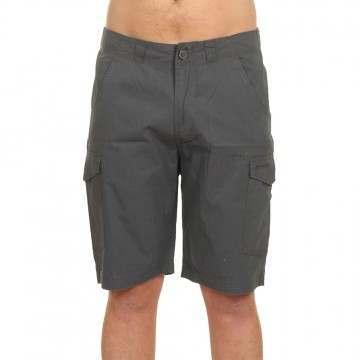 Animal Alantas Cargo Shorts Asphalt Grey