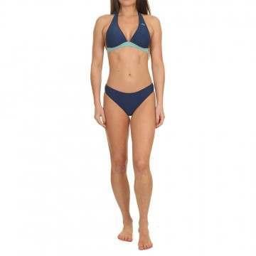 Animal Gracie Halterneck Bikini Blueberry Blue