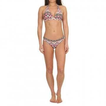 Animal Paison Halterneck Bikini Multicolour