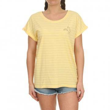 Animal Drift Circles Tee Pineapple Yellow