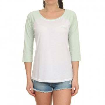 Animal Surfside Long Sleeve Top Harbour Green