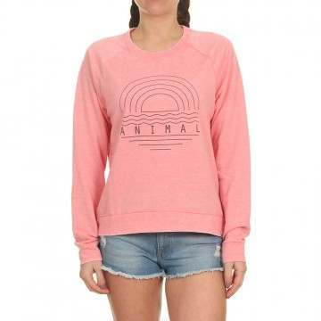 Animal Lamu Crew Strawberry Pink