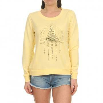 Animal Cruize Crew Pineapple Yellow