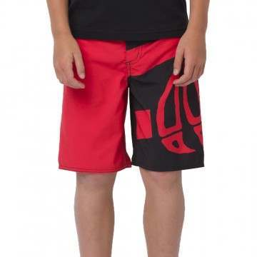 Animal Boys Layka Boardshorts Melon Red
