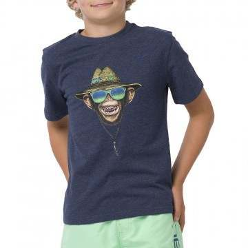 Animal Boys Hang Loose Tee Indigo Blue