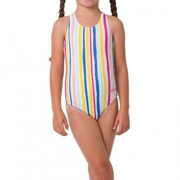 Animal Girls Frieda Swimsuit Multicolour