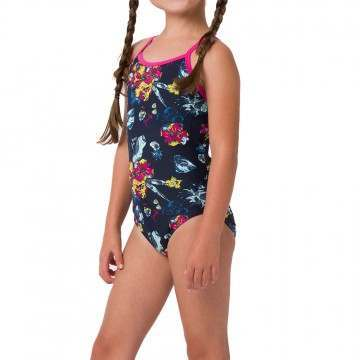 Animal Girls Hanalei Swimsuit Indigo Blue