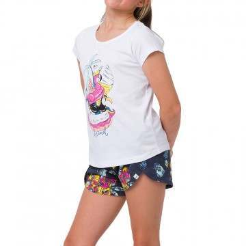 Animal Girls Inflatables Tee White