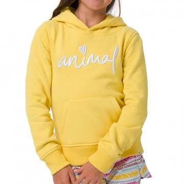 Animal Girls Rachelle Hoody Prim Yellow