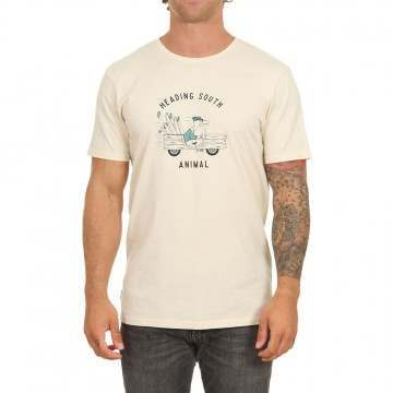 Animal Migrate Tee Putty Grey
