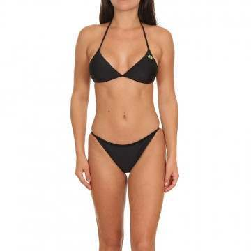 Animal Ulla Triangle Bikini Set Black