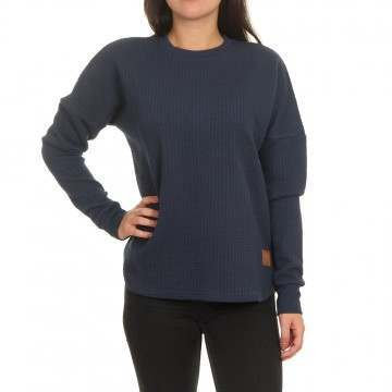 Animal Structured Sweatshirts Indigo Marl