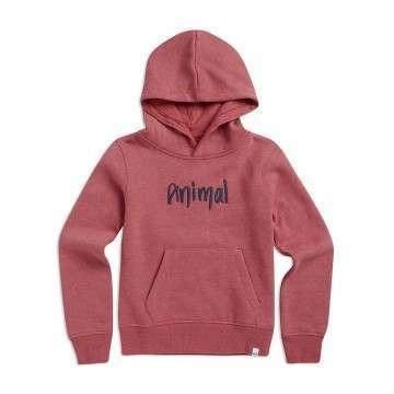 Animal Girls Rachelle Hoody Pink Marl