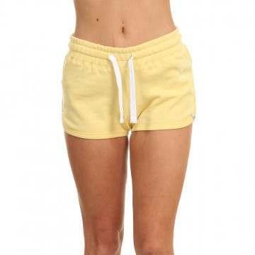 Animal Cheeks Sweat Shorts Pineapple Yellow
