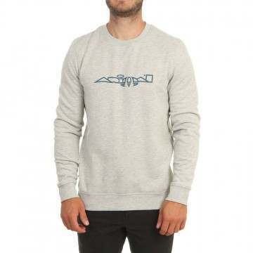 Animal Transition Sweatshirt Grey Marl