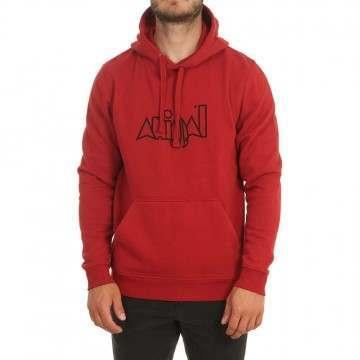 Animal Heriter Hoody Dahlia Red