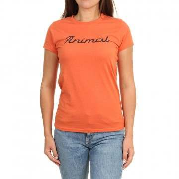 Animal Lowgo Tee Chilli Red Marl