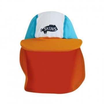 CSkins Baby Keppi Sun Hat SPF 50 Turquoise/Orange