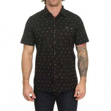 Hurley Birds Shirt Black