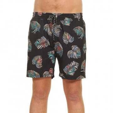 Hurley Botanical Volley Shorts Black