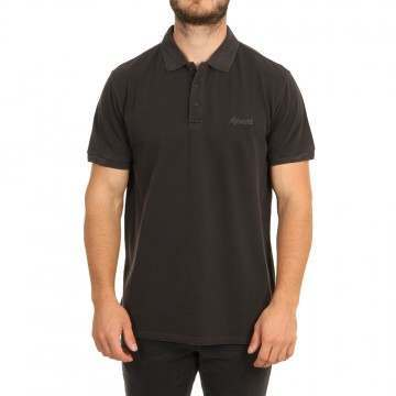 Ripcurl Faded Polo Shirt Washed Black