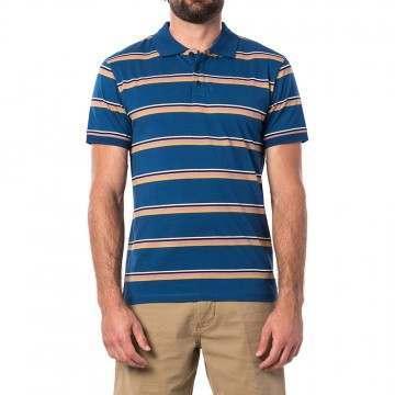 Ripcurl La Mariniere Polo Shirt Indigo