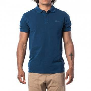 Ripcurl Faded Polo Shirt Indigo