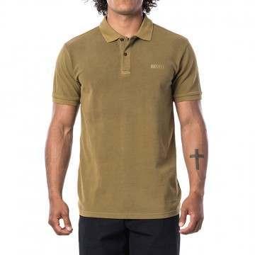 Ripcurl Faded Polo Shirt Mustard