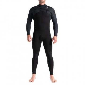 CSkins Rewired 3/2 FZ Summer Wetsuit Black