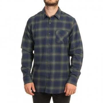 Ripcurl Check This Shirt Navy/Green