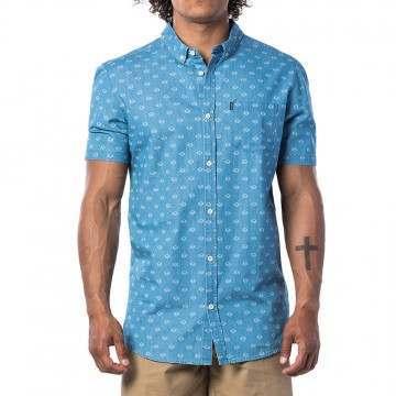 Ripcurl Rhombees Shirt Blue